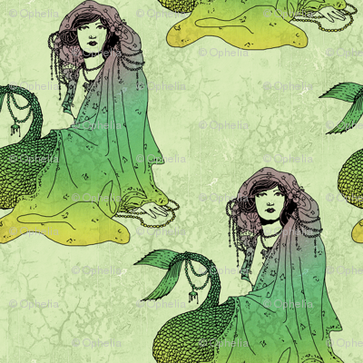 Mermaid (green tint)