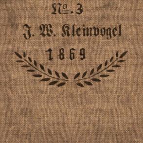 German Grain Sack  - 1869