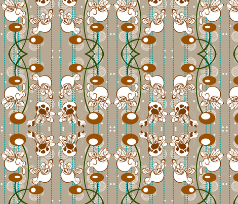 sniff fabric by outofthebox on Spoonflower - custom fabric