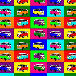 Warhol Inspired VW Bus