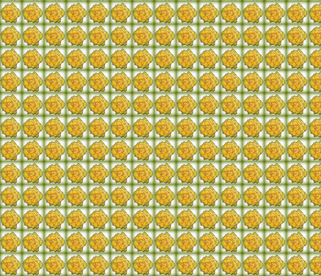 Yellow_Rose fabric by upknitcreek on Spoonflower - custom fabric