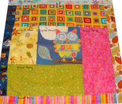Owl Fabric Panel