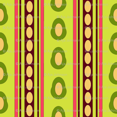 Aguacatitos_Stripe_Bright_Green