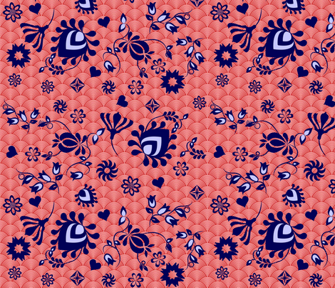 Asia_Myrte fabric by mirthquake on Spoonflower - custom fabric