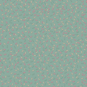 Sprinkles in Teal