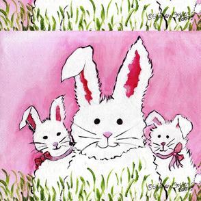 3 Bunny Famly