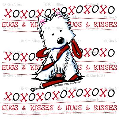 Westie Hugs & Kisses