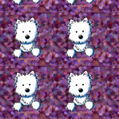 Pocket Westie Quilting Square