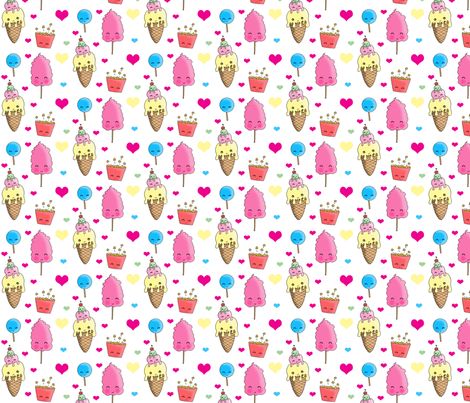 yummy_stuff fabric by charleydreams on Spoonflower - custom fabric