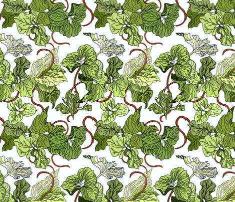 Trillium Festival fabric by dragonfly on Spoonflower - custom fabric