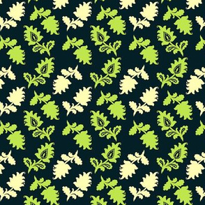 Summer Picnic Navy Floral