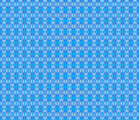 Voodoo Blue  fabric by eelkat on Spoonflower - custom fabric