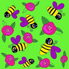 Bumblebees in Paradise