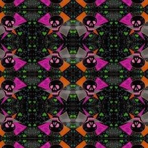 Voodoo Gothic Skull Heart