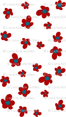Bloom in Ruby, Summer Joy Collection by Lana Kole