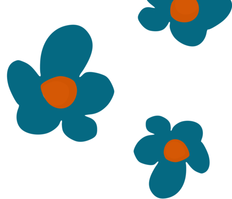 Bloom in Teal, Summer Joy Collection by Lana Kole fabric by lana_kole on Spoonflower - custom fabric