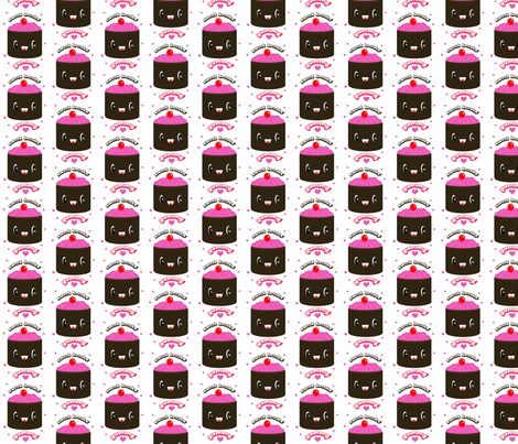 Choco Cake fabric by itybitybags on Spoonflower - custom fabric