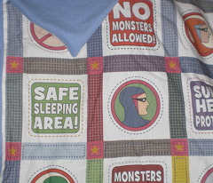 No Monsters Quilt