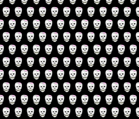 Cracked Skull fabric by eelkat on Spoonflower - custom fabric