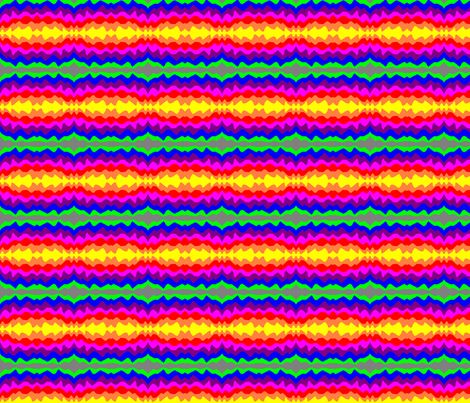 Jordan's Painted Rainbow fabric by eelkat on Spoonflower - custom fabric