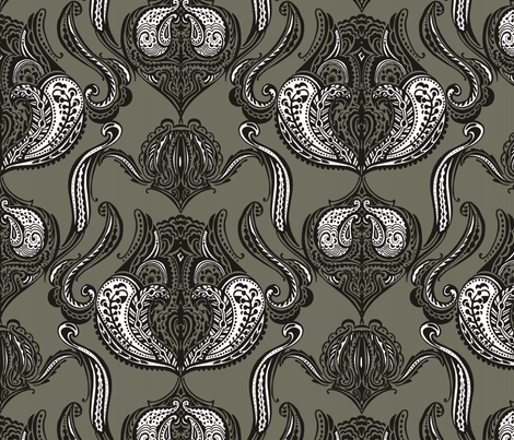 castleroom fabric by renule on Spoonflower - custom fabric