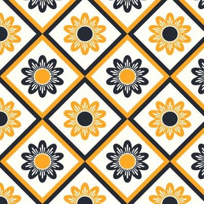 yellow black pattern