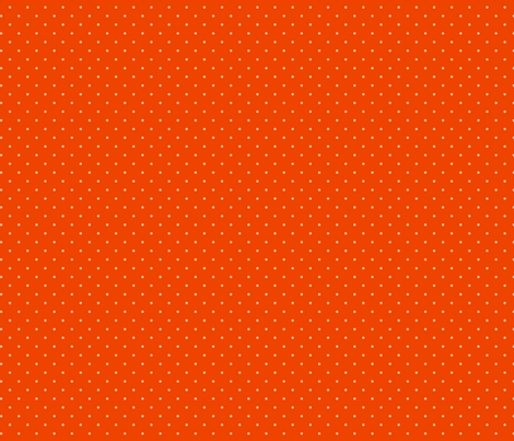 Dots on tangerine fabric by hamburgerliebe on Spoonflower - custom fabric