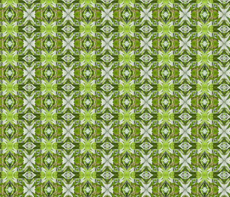 tiki fabric by silverspoon on Spoonflower - custom fabric