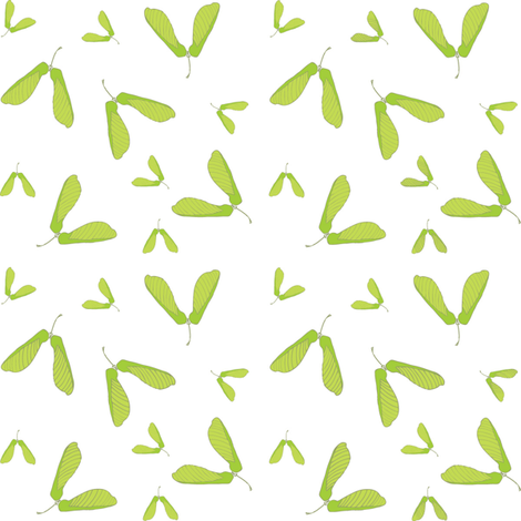 maple helicopter fabric by indieish on Spoonflower - custom fabric
