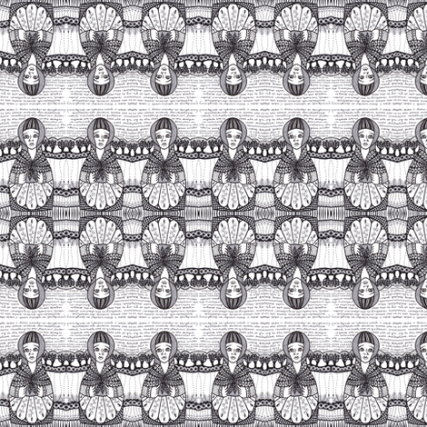 babushka 1 fabric by gonerustic on Spoonflower - custom fabric
