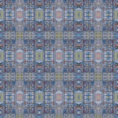 y not she - window 2 fabric by gonerustic on Spoonflower - custom fabric