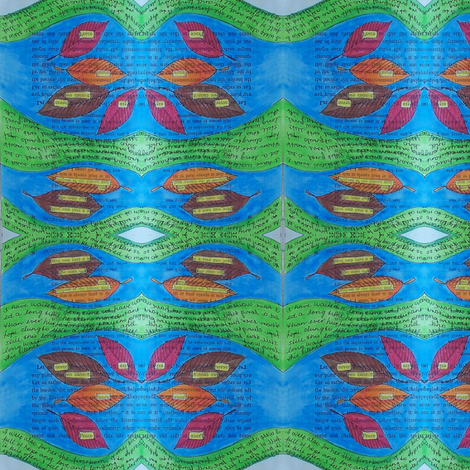 secrets - river 1 fabric by gonerustic on Spoonflower - custom fabric