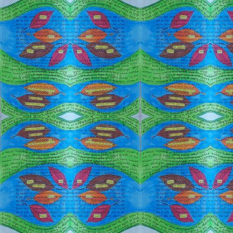 secrets - river 1 fabric by gonerustic on Spoonflower - custom fabric