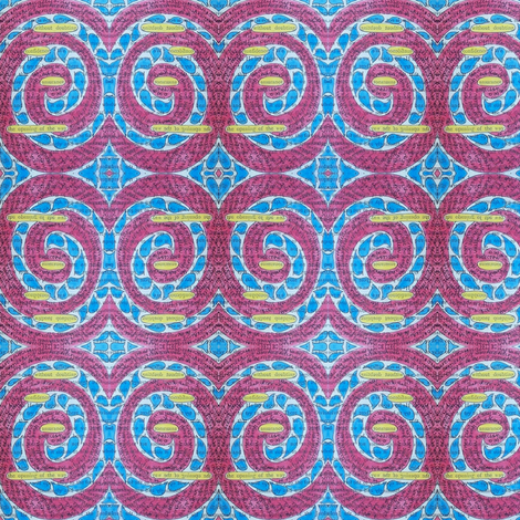 secrets - spiral 2 fabric by gonerustic on Spoonflower - custom fabric