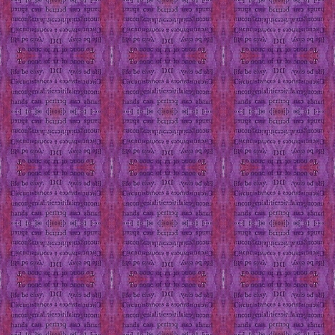 secrets - purple 1 fabric by gonerustic on Spoonflower - custom fabric