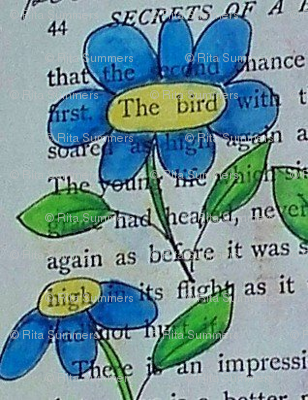 secrets - blue daisies 3
