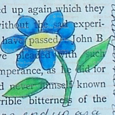 secrets - blue daisies 4