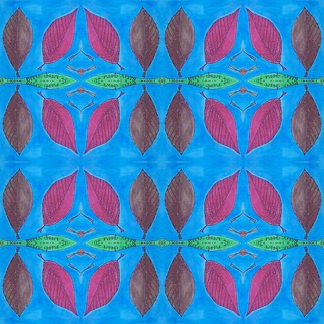 secrets - leaf 1 fabric by gonerustic on Spoonflower - custom fabric