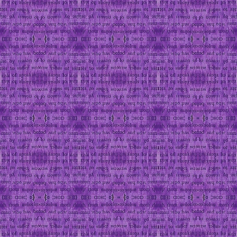 secrets - purple 2 fabric by gonerustic on Spoonflower - custom fabric