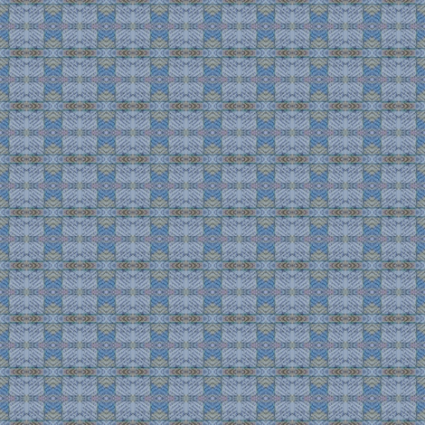 y not she - grid 1 fabric by gonerustic on Spoonflower - custom fabric