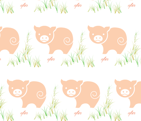 after fabric by miss_puga on Spoonflower - custom fabric