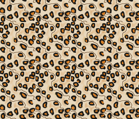 wild_print fabric by silverspoon on Spoonflower - custom fabric
