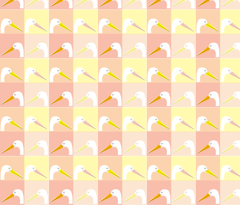 stork fabric by anda on Spoonflower - custom fabric