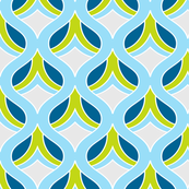 Dijon Retro Fabric Print