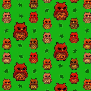 Owls in the Green