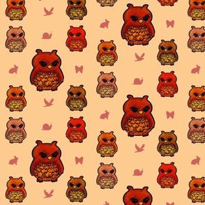 Owls vintage look