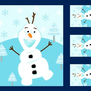 Snowman Panel