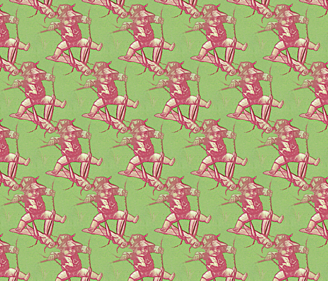 Cricket rider fabric by nalo_hopkinson on Spoonflower - custom fabric