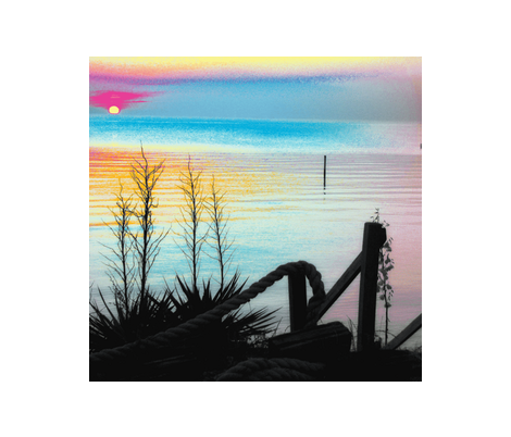 smithsbeach sunset fabric by atd on Spoonflower - custom fabric