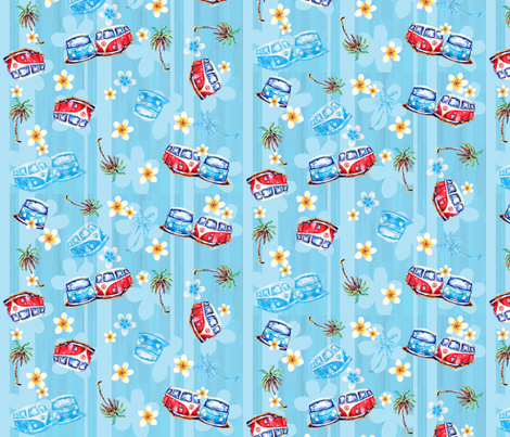 summerluvin fabric by debbroughton on Spoonflower - custom fabric